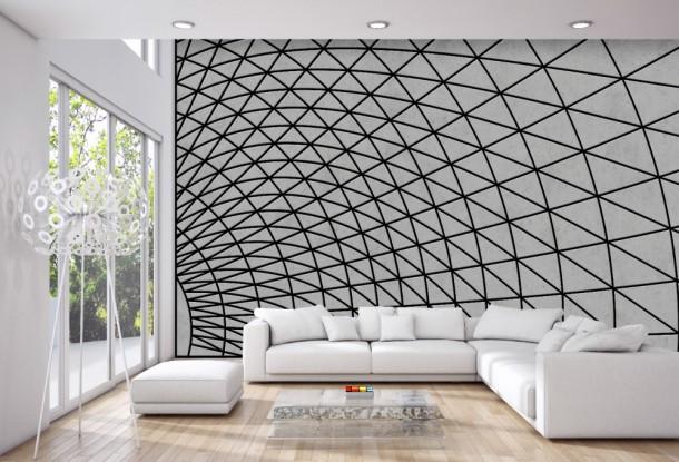 עיצוב קירות Wave