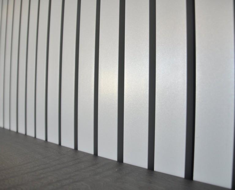 חיפוי קירות סרגלי אלומיניום
