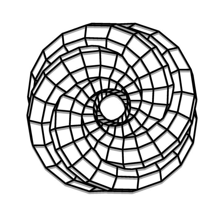 תמונת מתכת דגם חלל האפשרויות האינסופיות