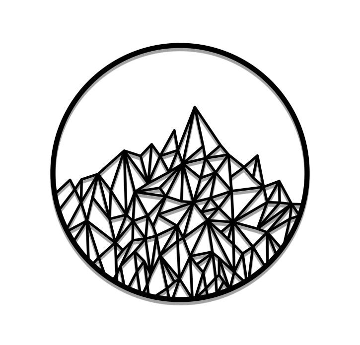 תמונת מתכת ההר המטפס