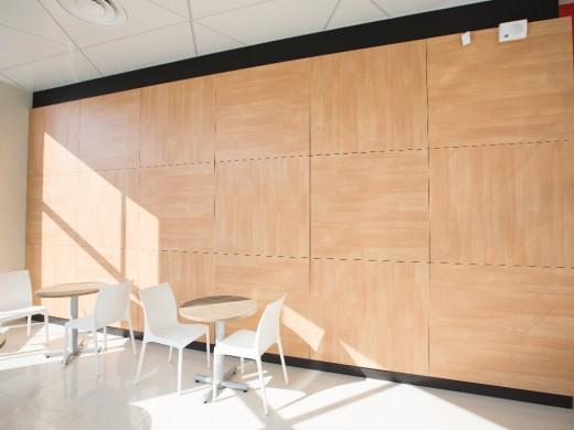 חיפוי קירות HPL