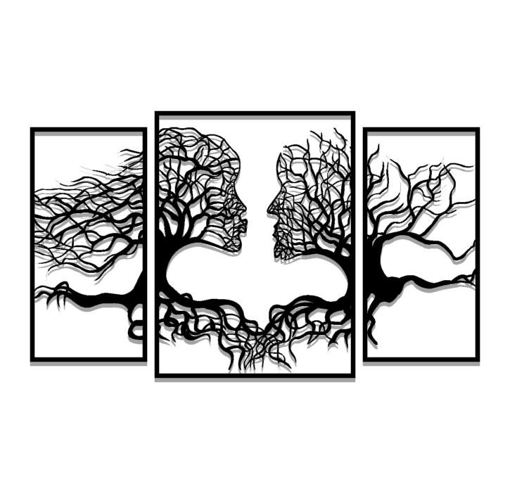 תמונת מתכת האדם כעץ השדה